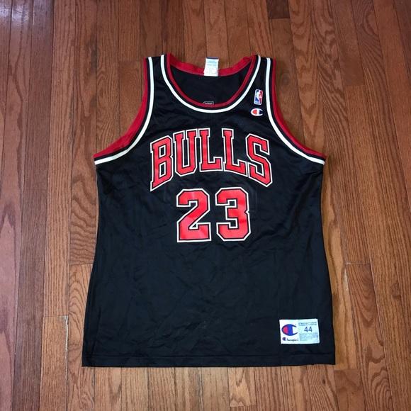 a2a173d24 Champion Other - Vintage Champion Jordan Bulls Jersey Size 44